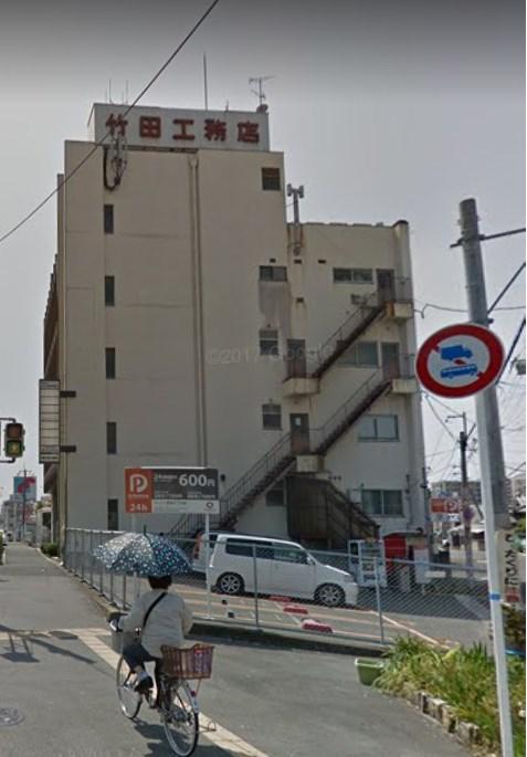 貸事務所 八尾市 萱振町1丁目 竹田ビル 玄関