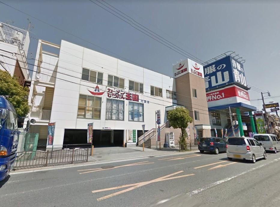 貸店舗・事務所 東大阪市 岸田堂西2丁目 じゅうたん王国 玄関