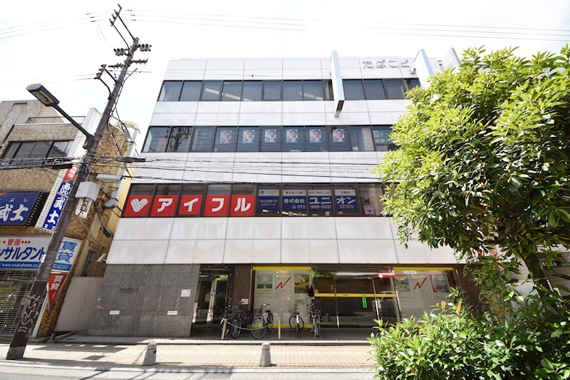 貸店舗・事務所 八尾市 東本町3丁目 たばこビル 外観写真