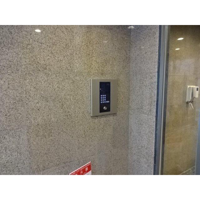 貸店舗・事務所 八尾市 本町7丁目 ワンフロア貸し セキュリティ