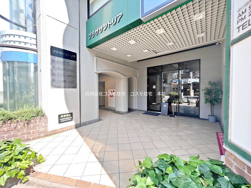 貸店舗・事務所 八尾市 東本町3丁目 プラザサントリア 玄関