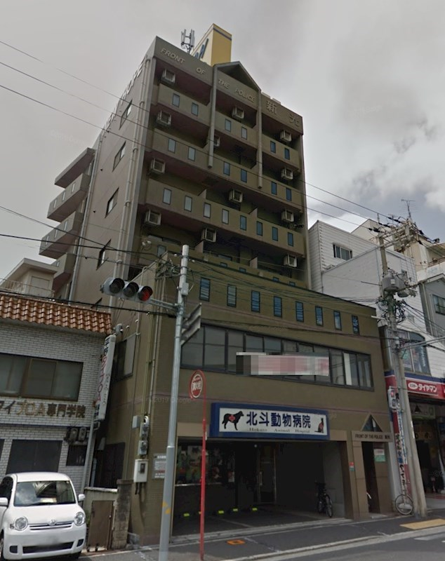 貸店舗・事務所 大阪市 平野区 PRONT OF THE POLICE 新光 外観