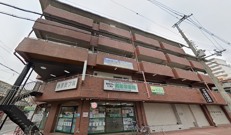 貸店舗・事務所 大阪市 平野区 長吉長原東1丁目 メゾンカタケ 外観