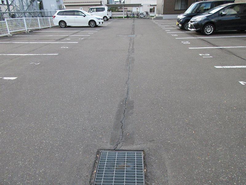 フォレストリバー 駐車場