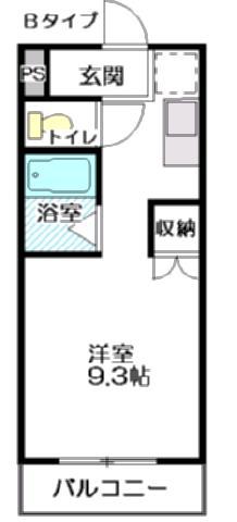 磐田グレイス第5マンション 105号室 間取り