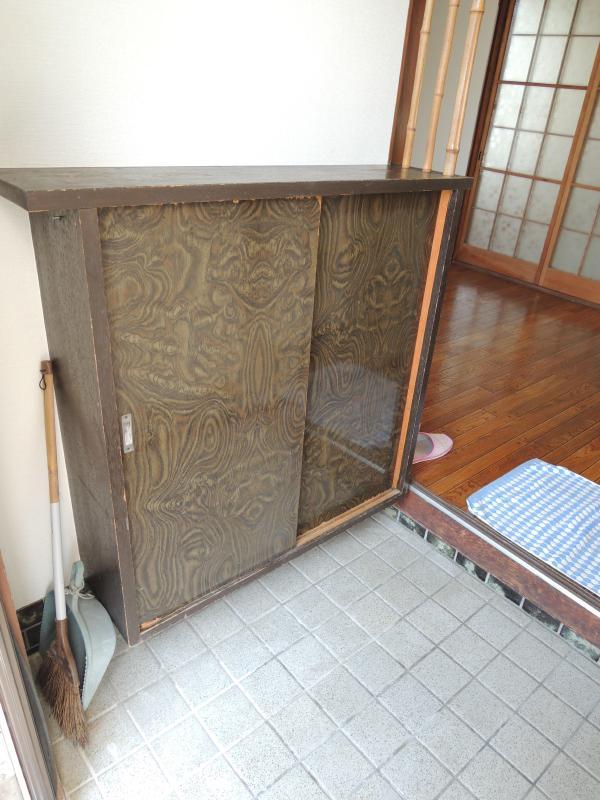藤田アパート 玄関