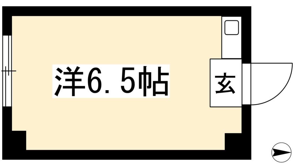 倉橋マンション(本館) 間取り