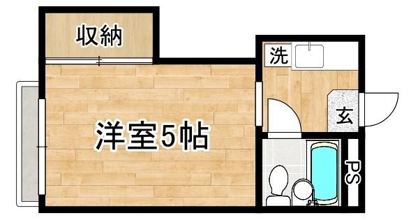 京都府京都市北区小山堀池町38 間取り