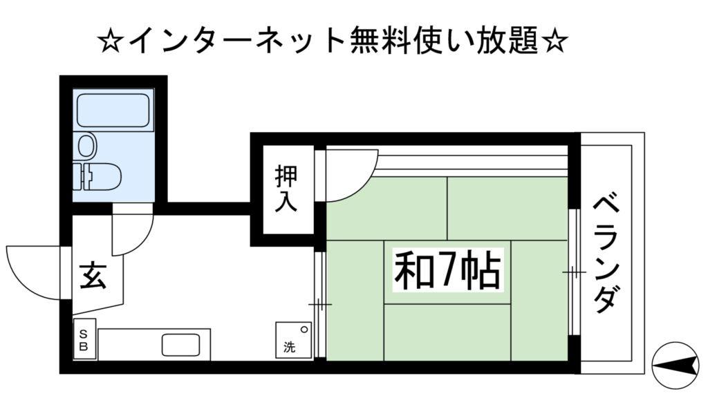 第二船岡山荘 間取り