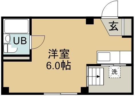 鎌田ビル 401号室 間取り