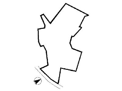 修多羅二丁目土地 間取り図