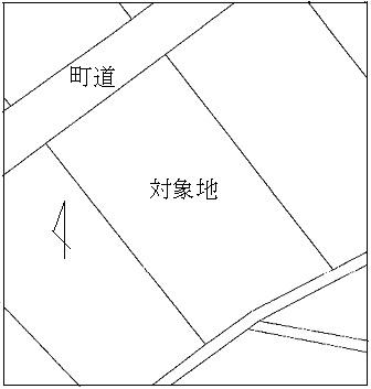 柴田郡柴田町船岡西2丁目15番5、外2筆 間取り図
