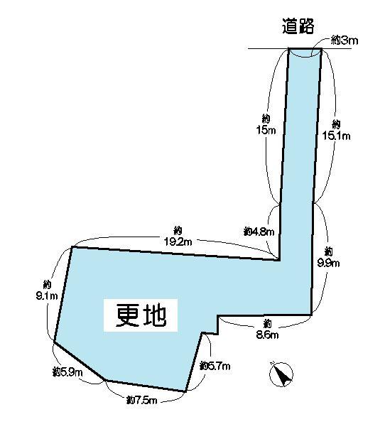 近江八幡市円山町 間取り図