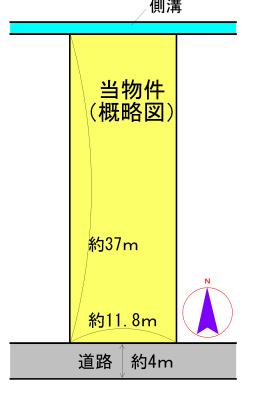 東大淀町 間取図・土地図