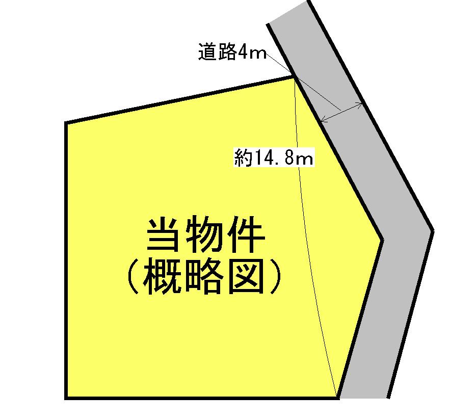 明和町上村 間取図・土地図