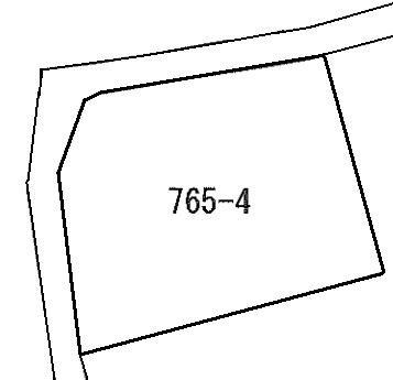 久慈町5丁目765番4 間取図・土地図