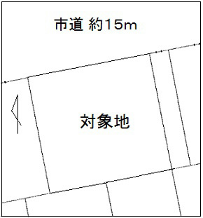 角田市岡字駅前南12番2、12番3 間取り図