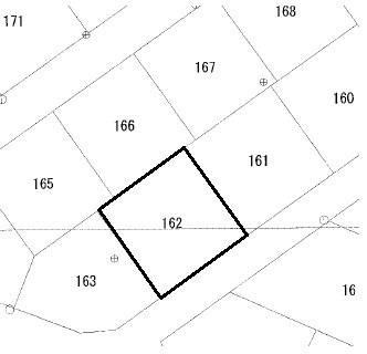 金沢町5丁目162番 間取図・土地図