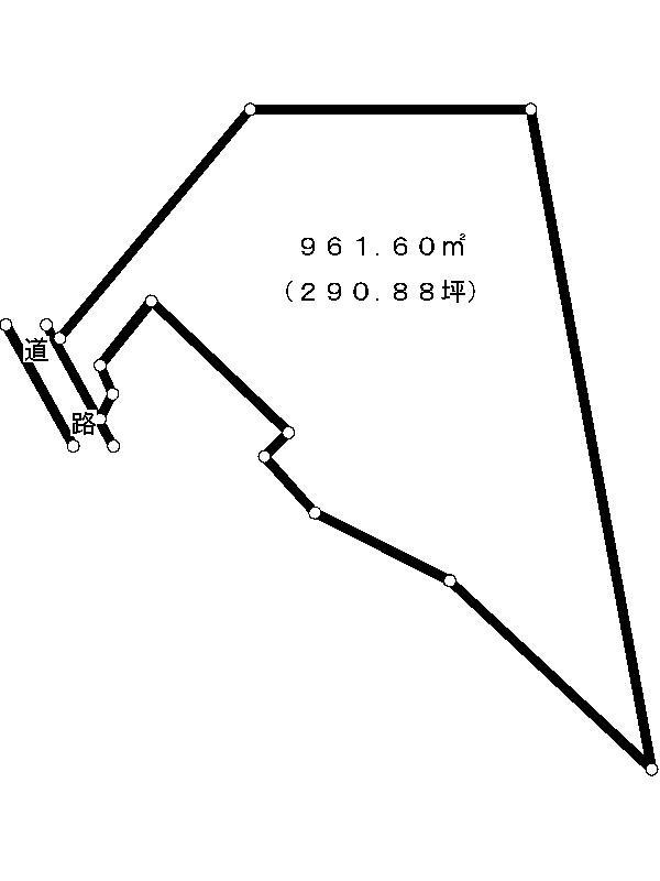 多治見市平野町4丁目 間取図・土地図