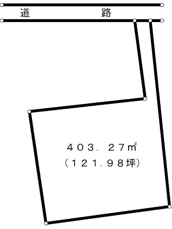 多治見市市之倉町1丁目 間取図・土地図