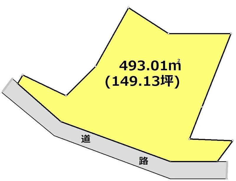 岐阜県多治見市平野町4丁目 間取図・土地図