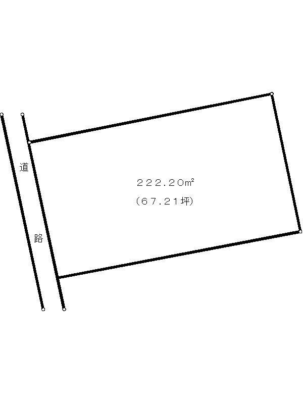 多治見市滝呂町16丁目 間取図・土地図