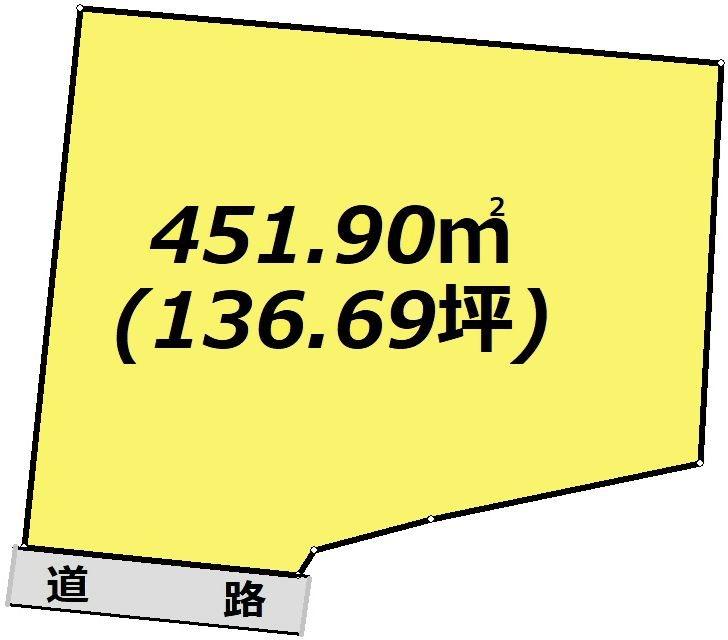 岐阜県恵那市明智町吉良見 間取図・土地図