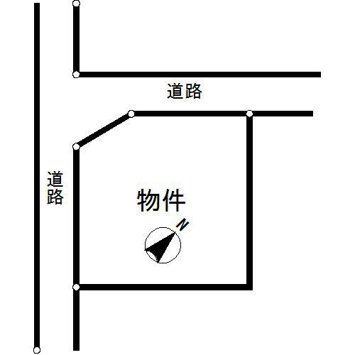 多治見市旭ヶ丘7丁目 間取図・土地図