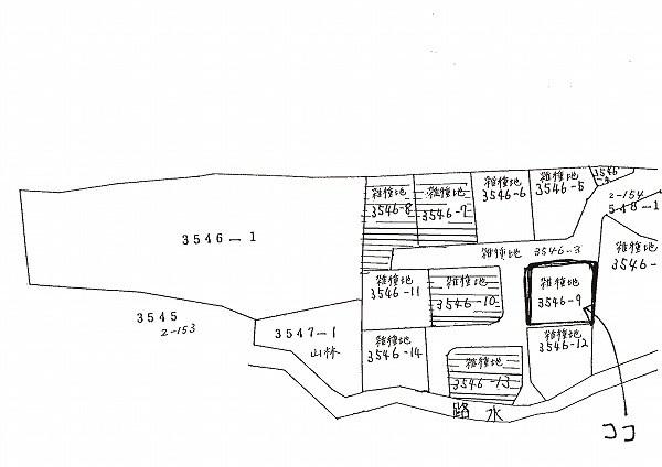 玖珠郡玖珠町大字山田土地 間取り図