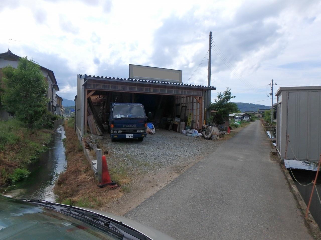 豊岡市宮島の倉庫 外観写真