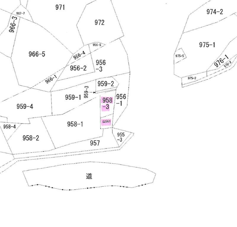 金比羅町 間取り図