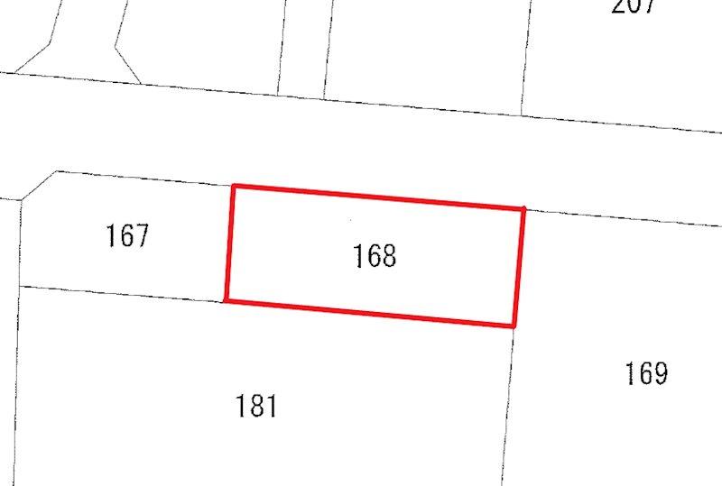 久慈町7丁目168番 間取図・土地図