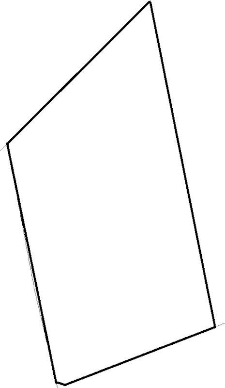 常陸太田市亀作町字湯前1537番2 間取図・土地図