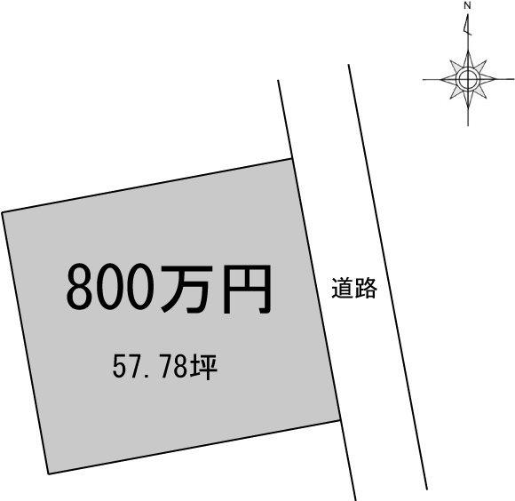 新居浜市庄内町 間取り図