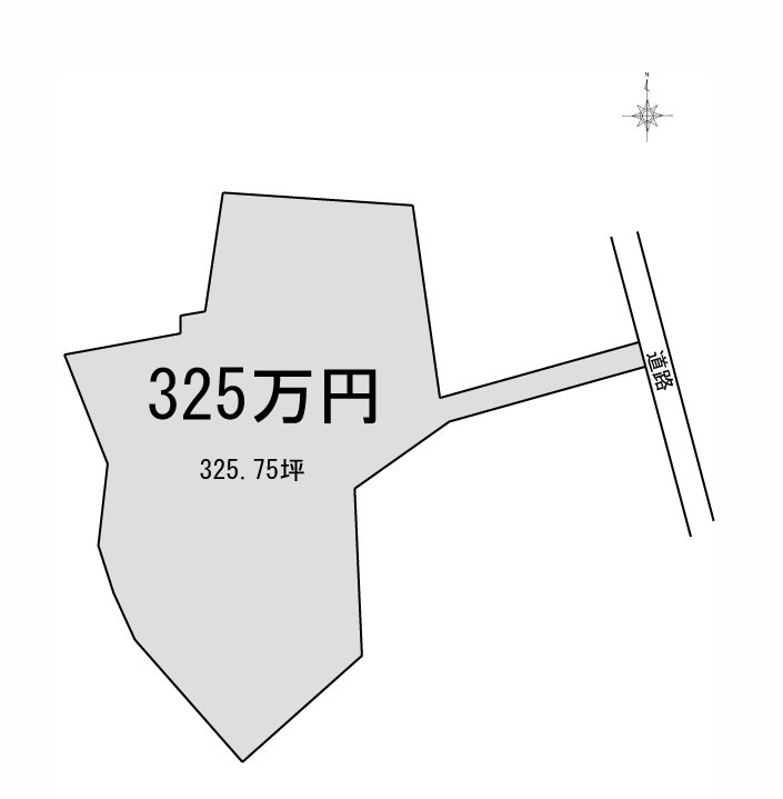 新居浜市萩生 間取り図