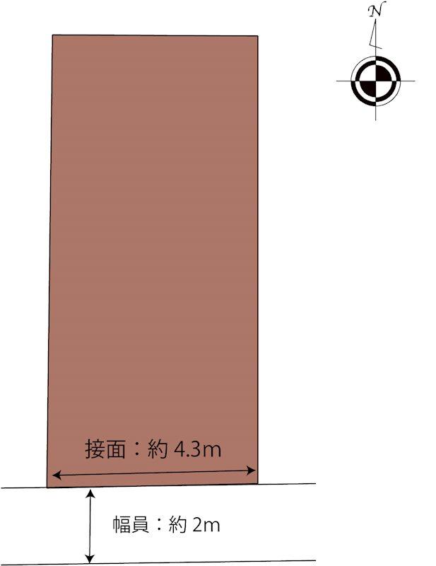 松山市中須賀2丁目 間取り図