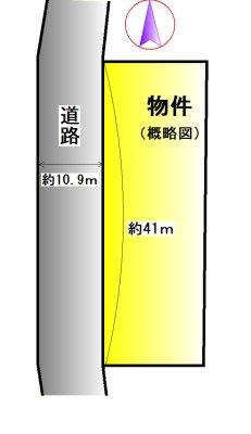 度会郡玉城町勝田 間取図・土地図