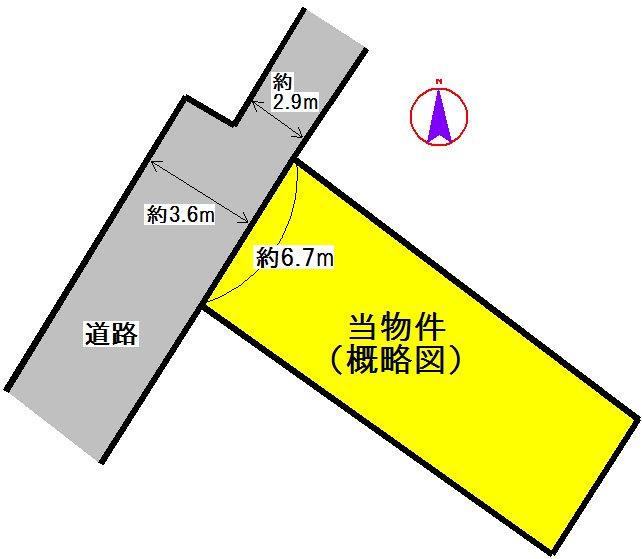 西之庄町 間取り図