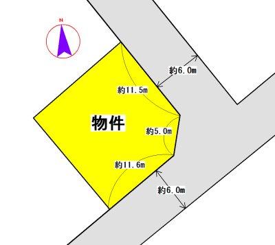 中万町(ハイビレッジ中万⑨号地) 間取り図