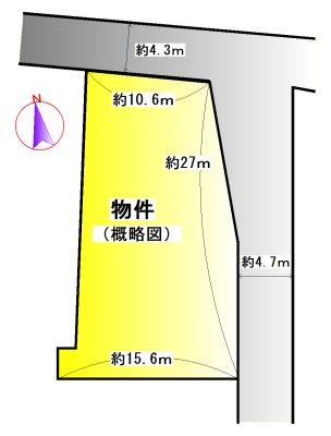 玉城町原 間取図・土地図