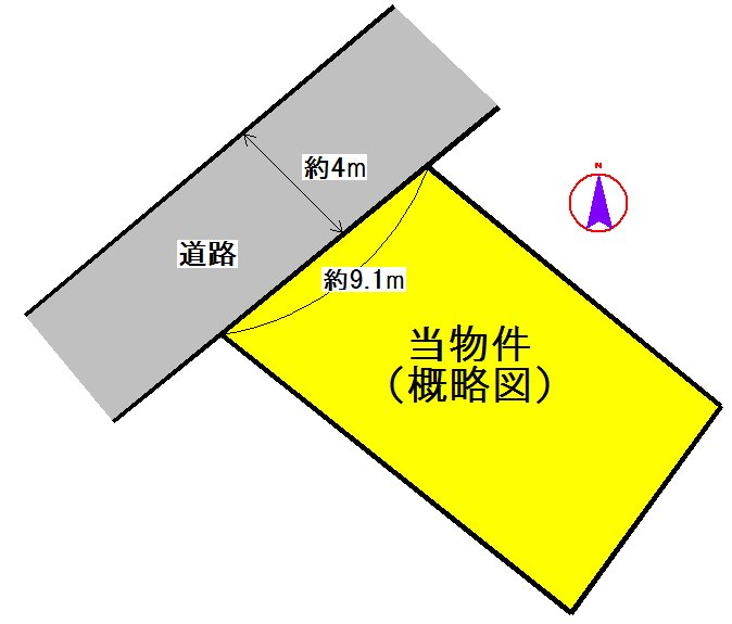 松阪市大黒田町 間取り図