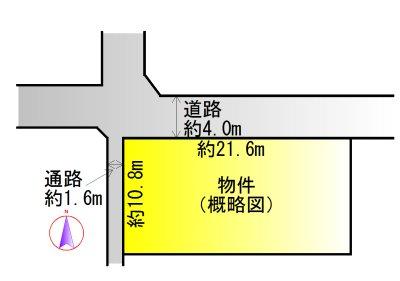 伊勢市小俣町明野 間取図・土地図