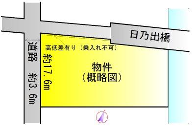 伊勢市二見町江 間取図・土地図