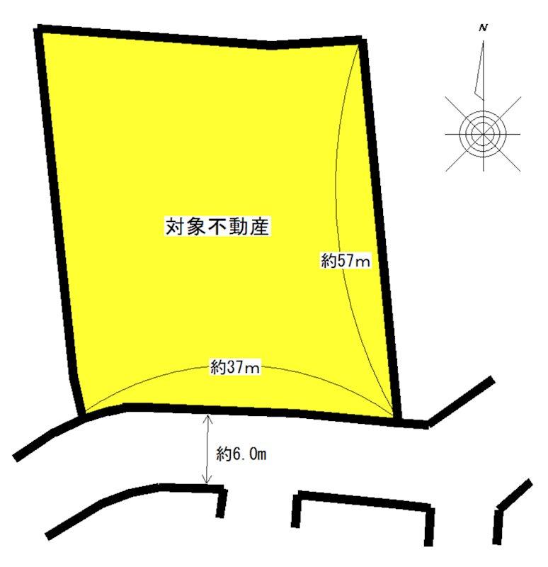 亀田町 間取り図