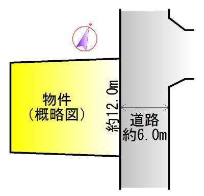 松阪市久保町(高杉団地) 間取図・土地図