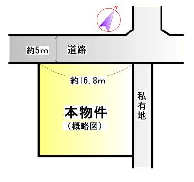 宮川郷団地 間取図・土地図