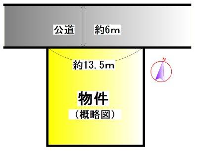 船江2丁目 間取図・土地図