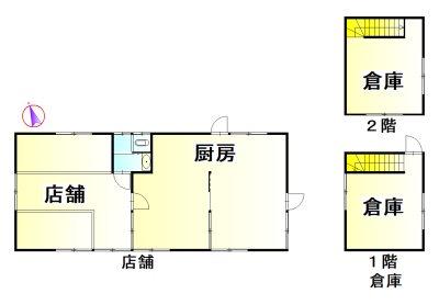 伊勢市中村町 間取図・土地図
