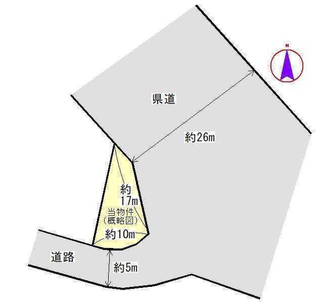 豊原町 間取図・土地図