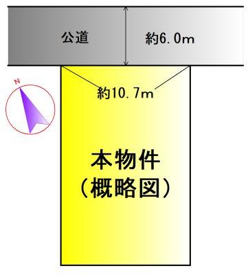 小俣町明野 間取図・土地図